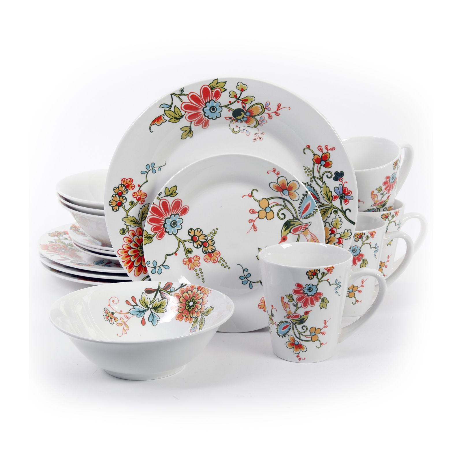 Patterned Dinnerware Sets Interesting Inspiration Design