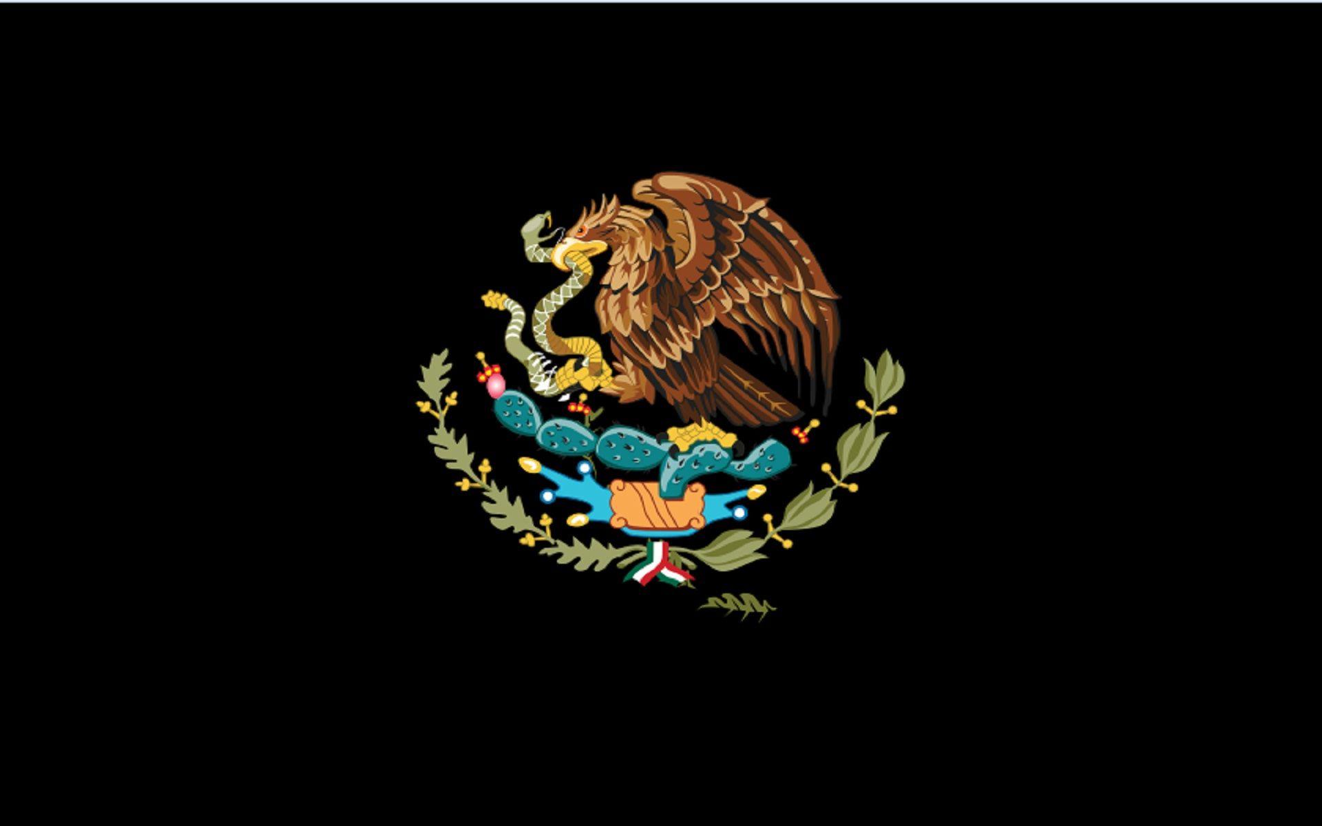 Mexican Flag Eagle Wallpaper