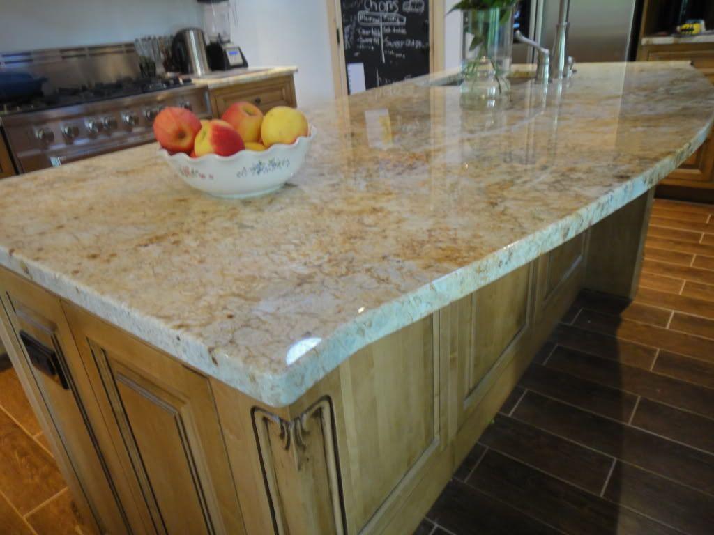 Colonial gold granite light beige natural countertop stone - Countertop Colonial Gold Granite
