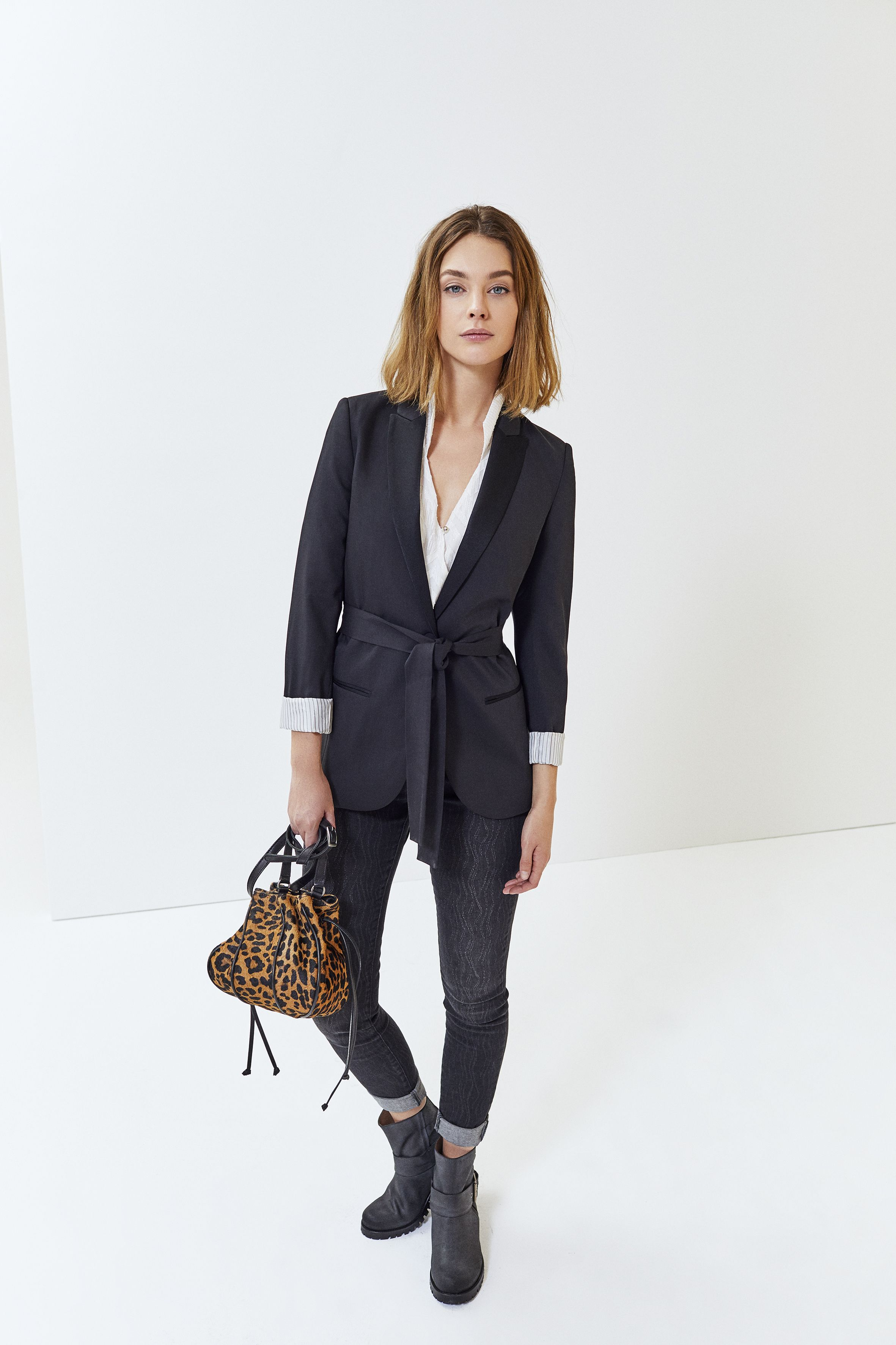 Veste leopard femme h&m