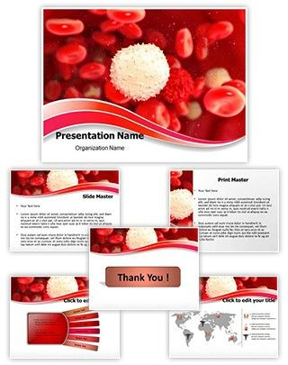 White Blood Cell Powerpoint Presentation Template Is One Of