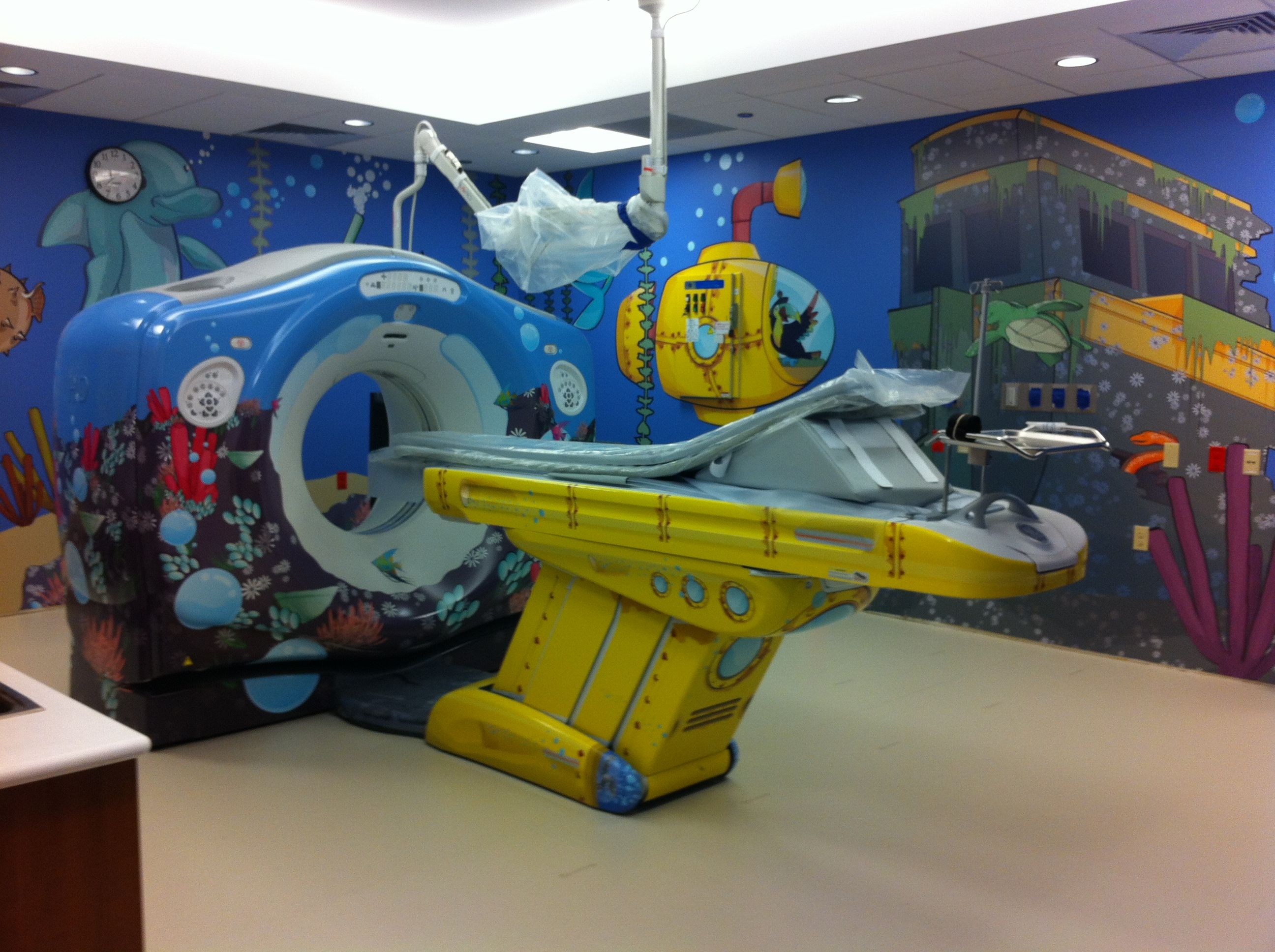 What a great idea for a CT scanner -- bummer, kids only