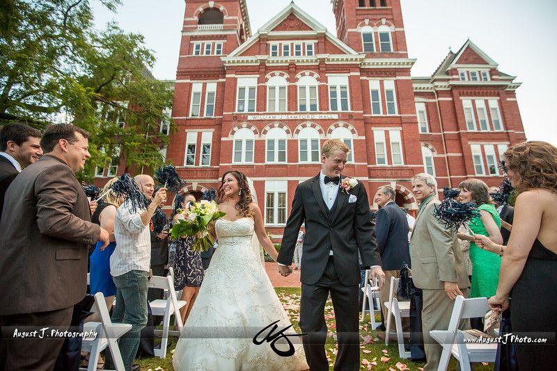 Luana Erics Auburn Alabama Wedding