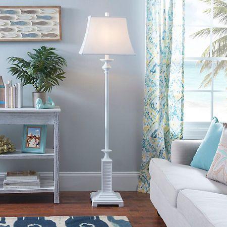 White Shutter Floor Lamp | White shutters, Floor lamp and Spaces