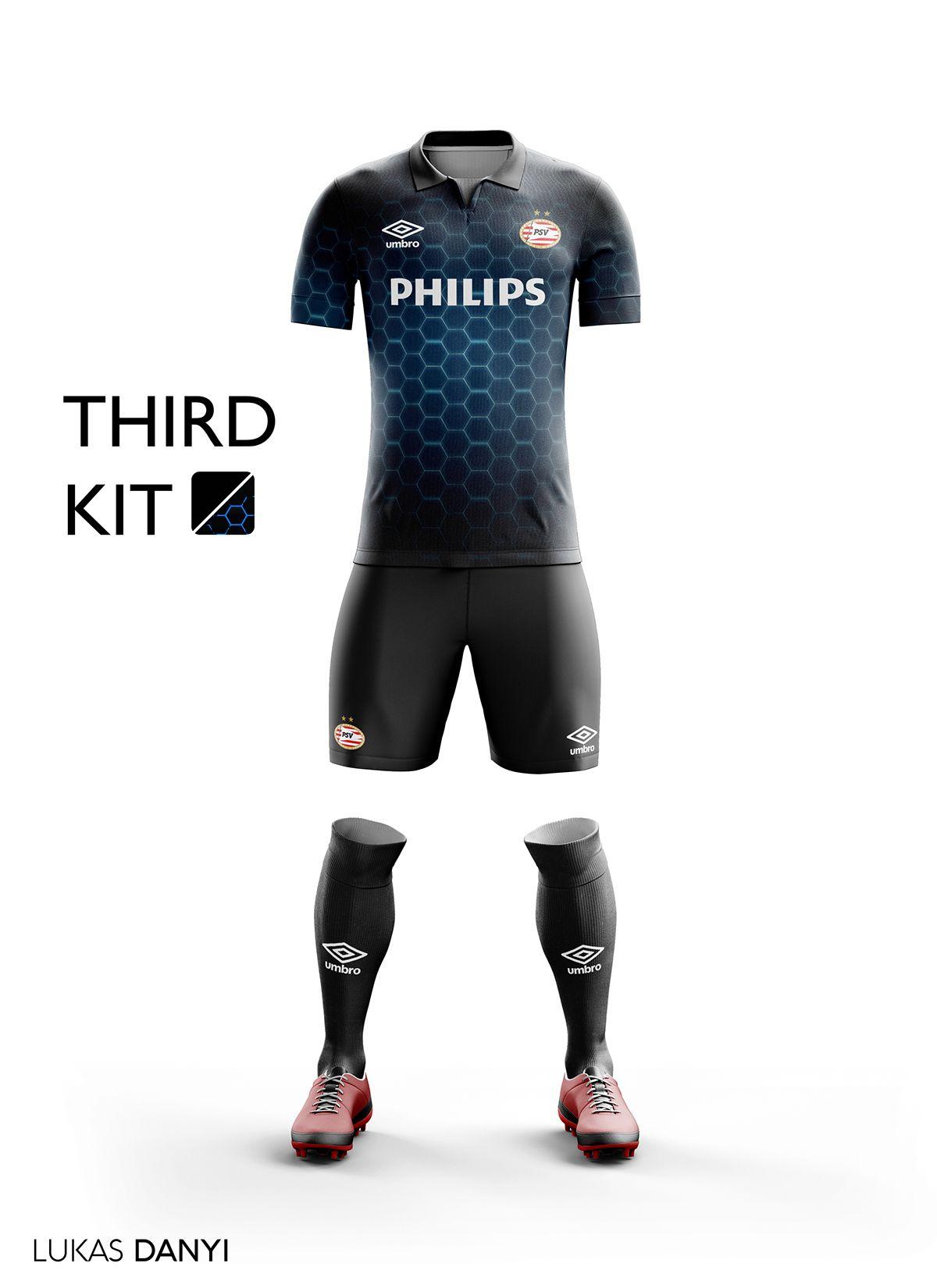 0371f06d64139 I designed football kits for PSV for the upcoming season 16 17 ...