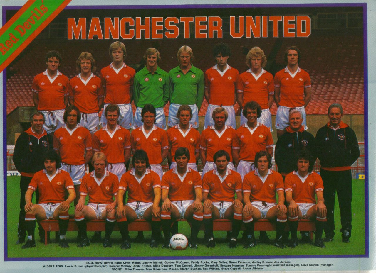 Manchester United 1979/80 Manchester united football