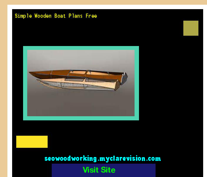 Simple Wooden Boat Plans Free 201312