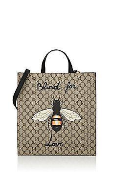 b335ffd960a Bee-Print GG Supreme Tote Bag