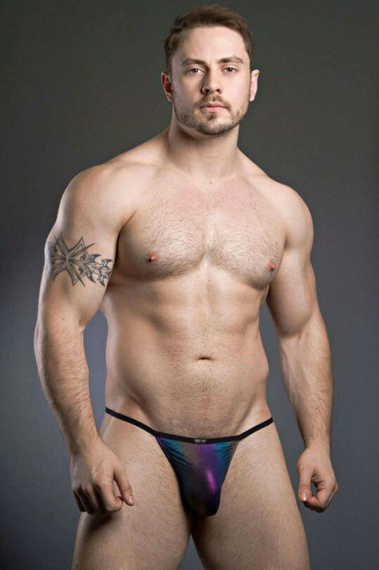 image Black hunk thong gay officers in pursuit