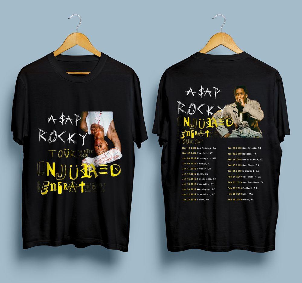 9c8aa9ff8ae New ASAP ROCKY Injured Generation Winter Tour Dates 2019 Gildan T-Shirt  S-3XL  fashion  clothing  shoes  accessories  mensclothing  shirts (ebay  link)
