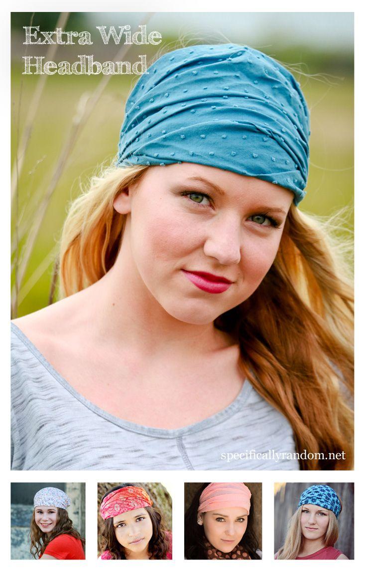 3879c0e6c Specifically Random's extra wide headbands measure 15