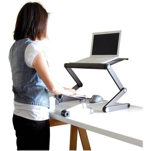 Uncaged Ergonomics Workez Standing Desk Black Desk Standing