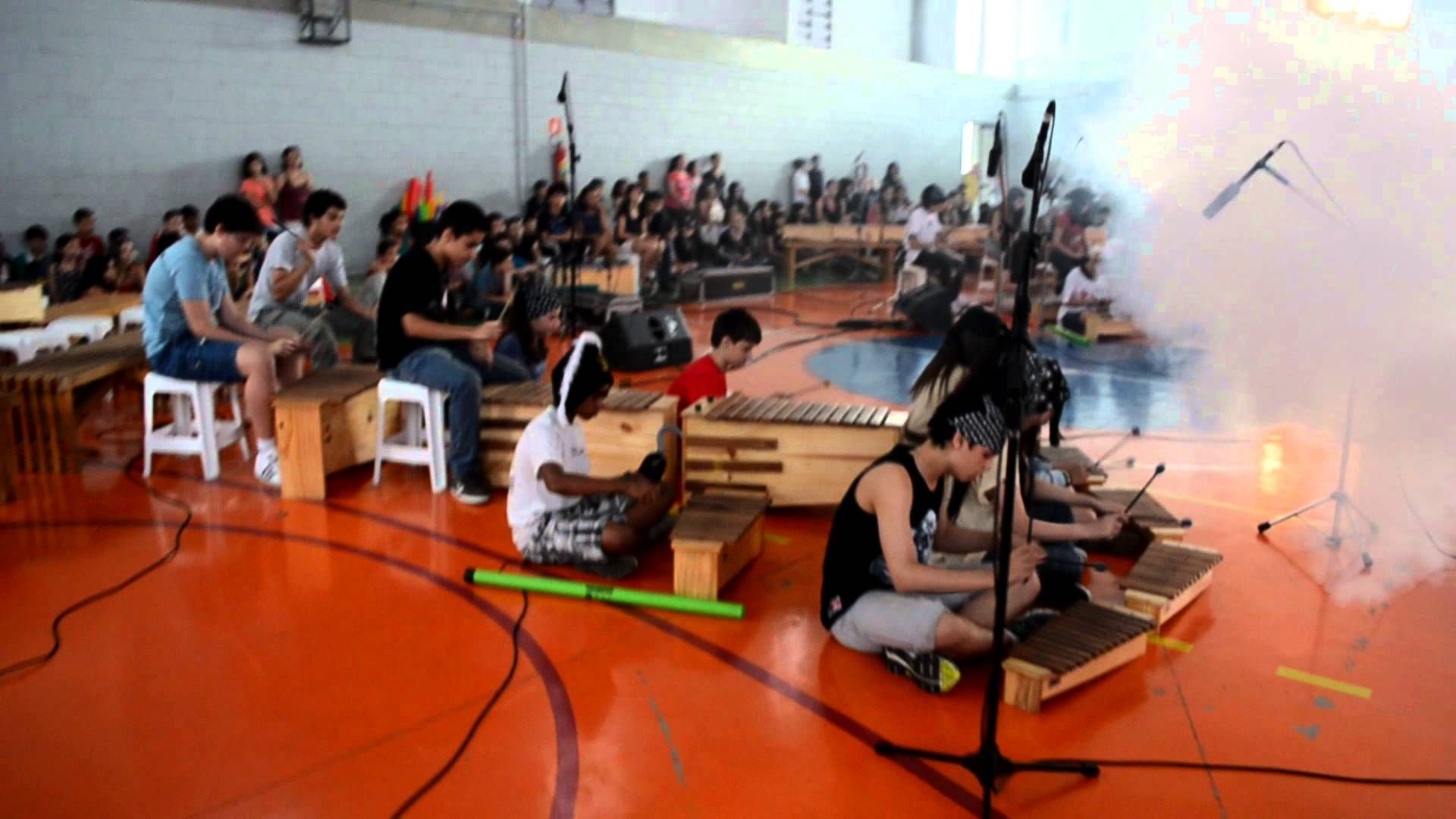 Pirates of Caribbean for Orff Instruments - Escola Germinare 8ºC - arr, ...
