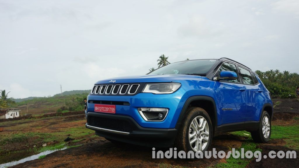 Jeep Compass Receives 1 000 Bookings In India Jeep Compass Jeep