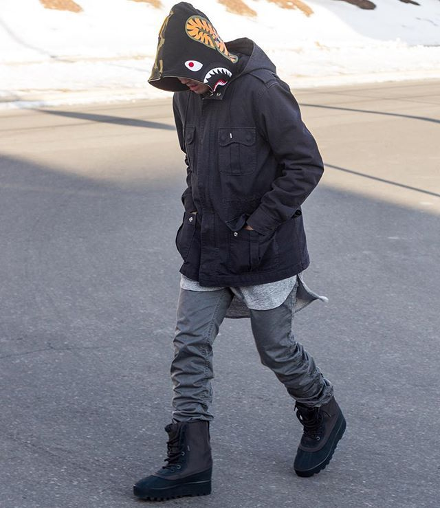 Ways to Wear Adidas Yeezy 950 Boots | Bape Hypebeast and Adidas yeezy 950