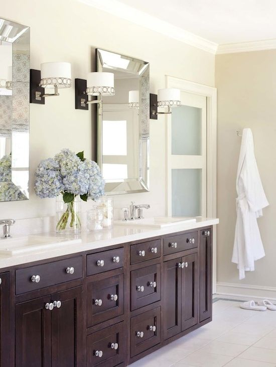 Laurel Wolf Explains Traditional Vs Transitional Design Style Beveled MirrorThe