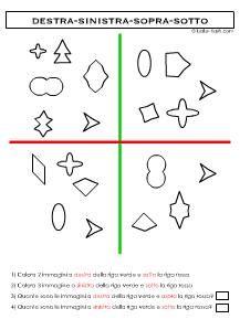 Schede didattiche percezioni spaziali | Schede didattiche ...