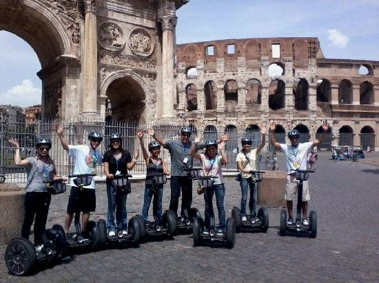 Step out to experience an outstanding Rome segway tour. Explore the famous attraction along with the little known gems of the city.