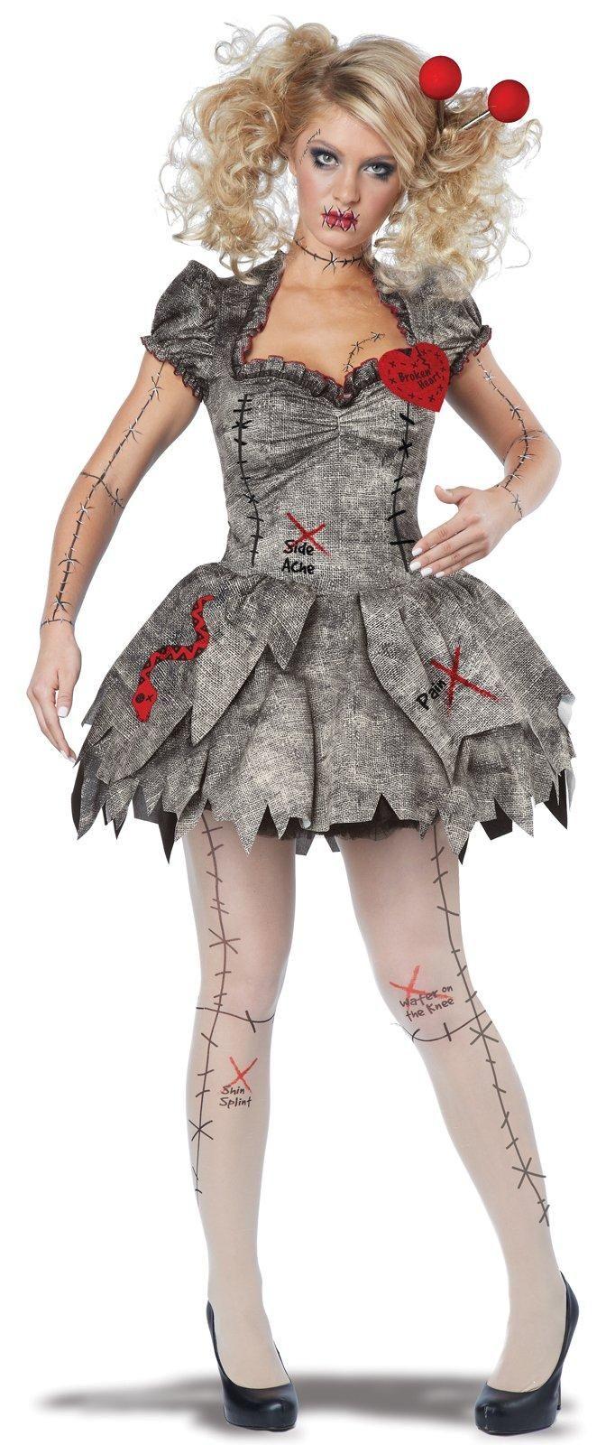 Adult Voodoo Dolly Costume Halloween Pinterest Halloween