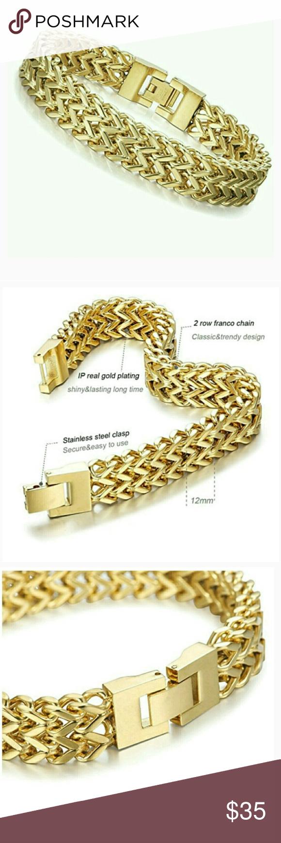 Nwt stainless steel bracelets restocked item rating e