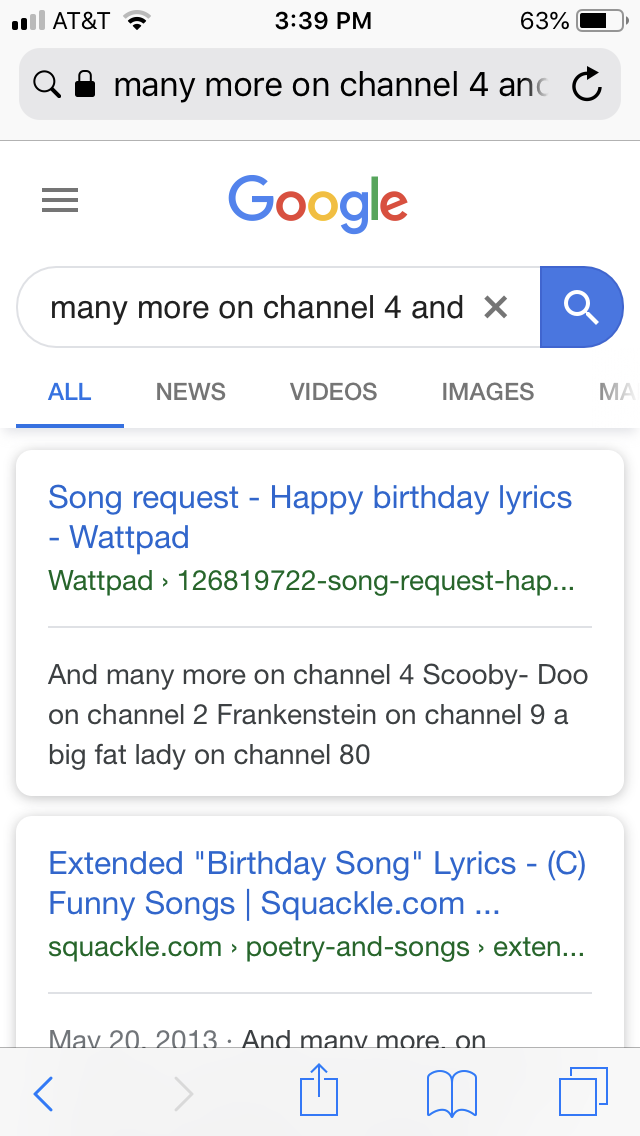 Pin by Susan Kuzmic on Birthdays Song request, Happy