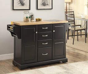 I Found A Black 4 Drawer Kitchen Cart At Big Lots For Less Find