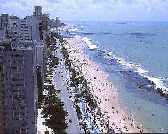 Praia de Boa Viagem, Recife, PE minha infância foi aqui.