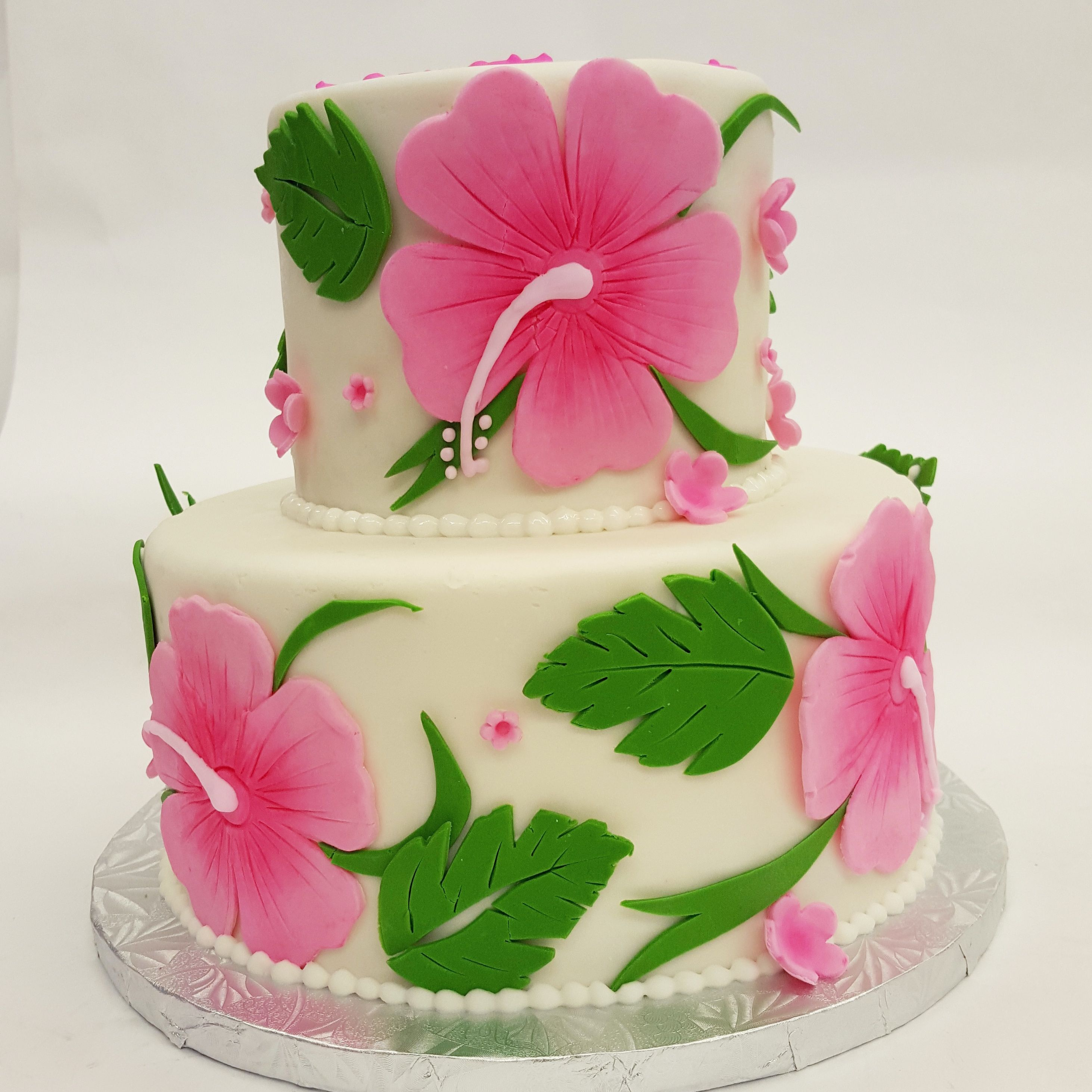 Transport yourself to Hawaii with this Hibiscus Cake! | CAKES~*and ...
