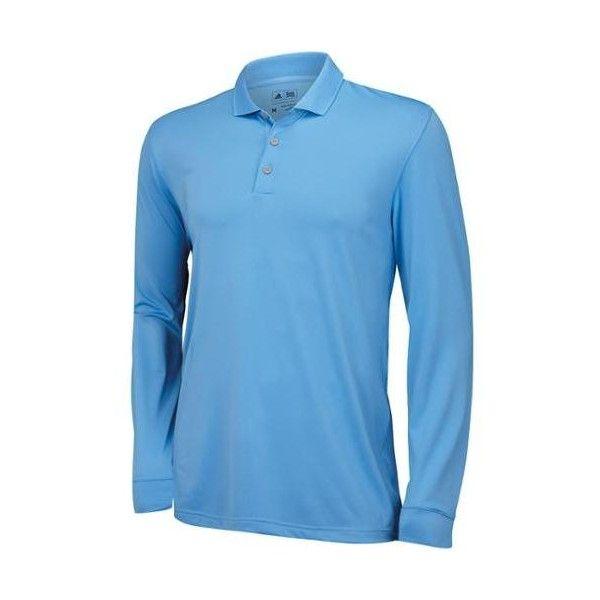 657f5f49 adidas Mens UV-50 Long Sleeve Polo Discontinued Style ($37) ❤ liked ...