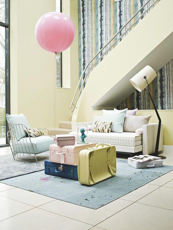 wohnzimmer bilder lass dich inspirieren  pastell