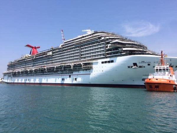 Carnival Vista Wins Cruise Ship Of The Year
