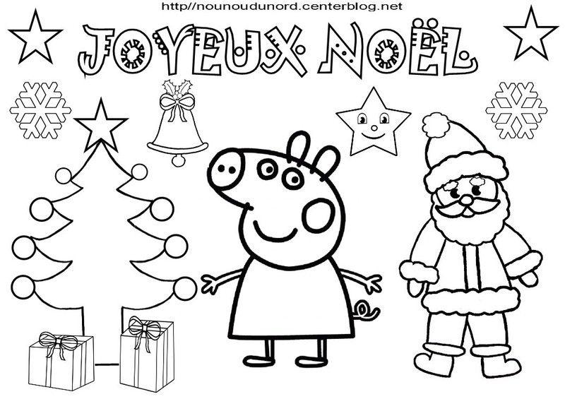 coloriage noel heros des enfants - Coloriage Noel