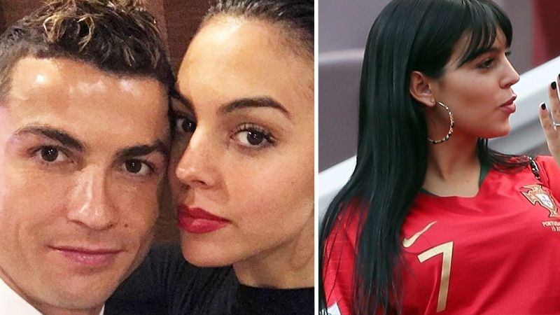 Cristiano Ronaldo S Girlfriend Spotted With Giant Cartier Engagement Ring 호날두