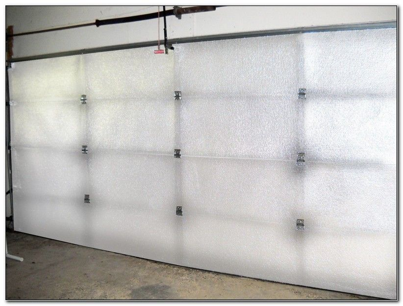 Reflective Foil Garage Door Insulation Kits Check more at