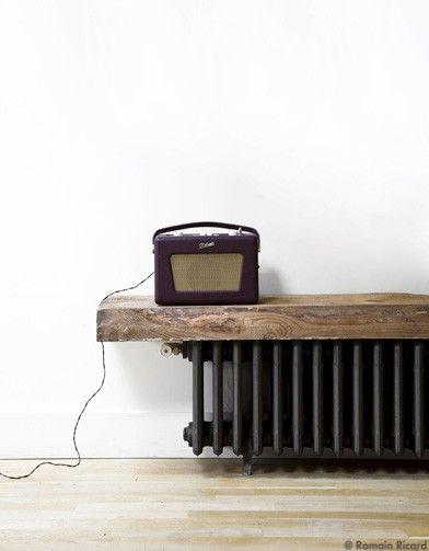 L\u0027esprit loft  mode d\u0027emploi - Elle Décoration cache radiateur