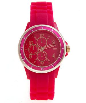 Fuchsia Pink Sports Watch £9.99