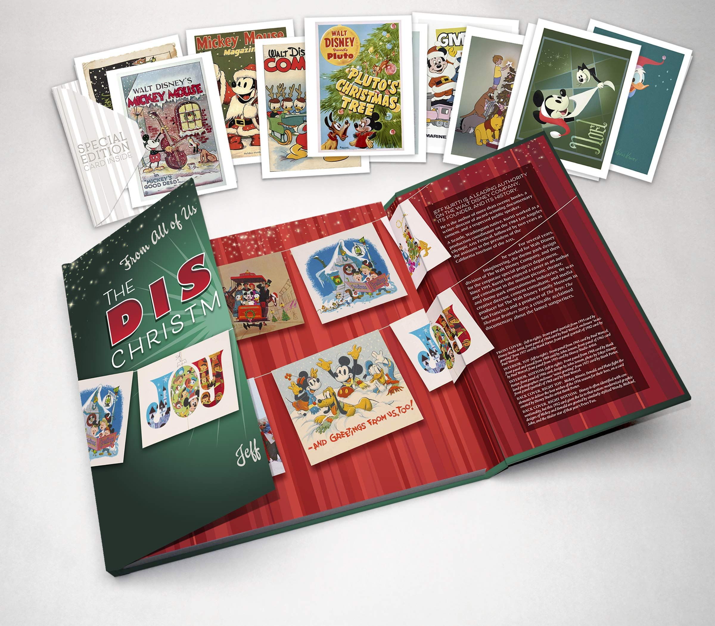 From All Of Us To All Of You The Disney Christmas Card Disney Editions Deluxe Hardcover October 2 2018 Card Edit Disney Christmas Christmas Cards Cards