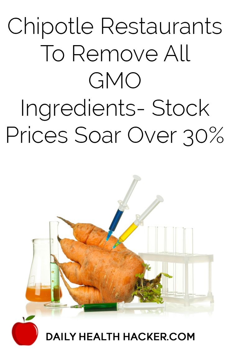 Chipotle restaurants to remove all gmo ingredients stock