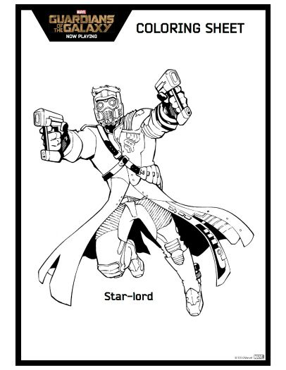 Star Lord Guardians Of The Galaxy Printable Coloring Page Desenhos Infantis Para Colorir Desenhos Animados Para Colorir Desenhos De Carros