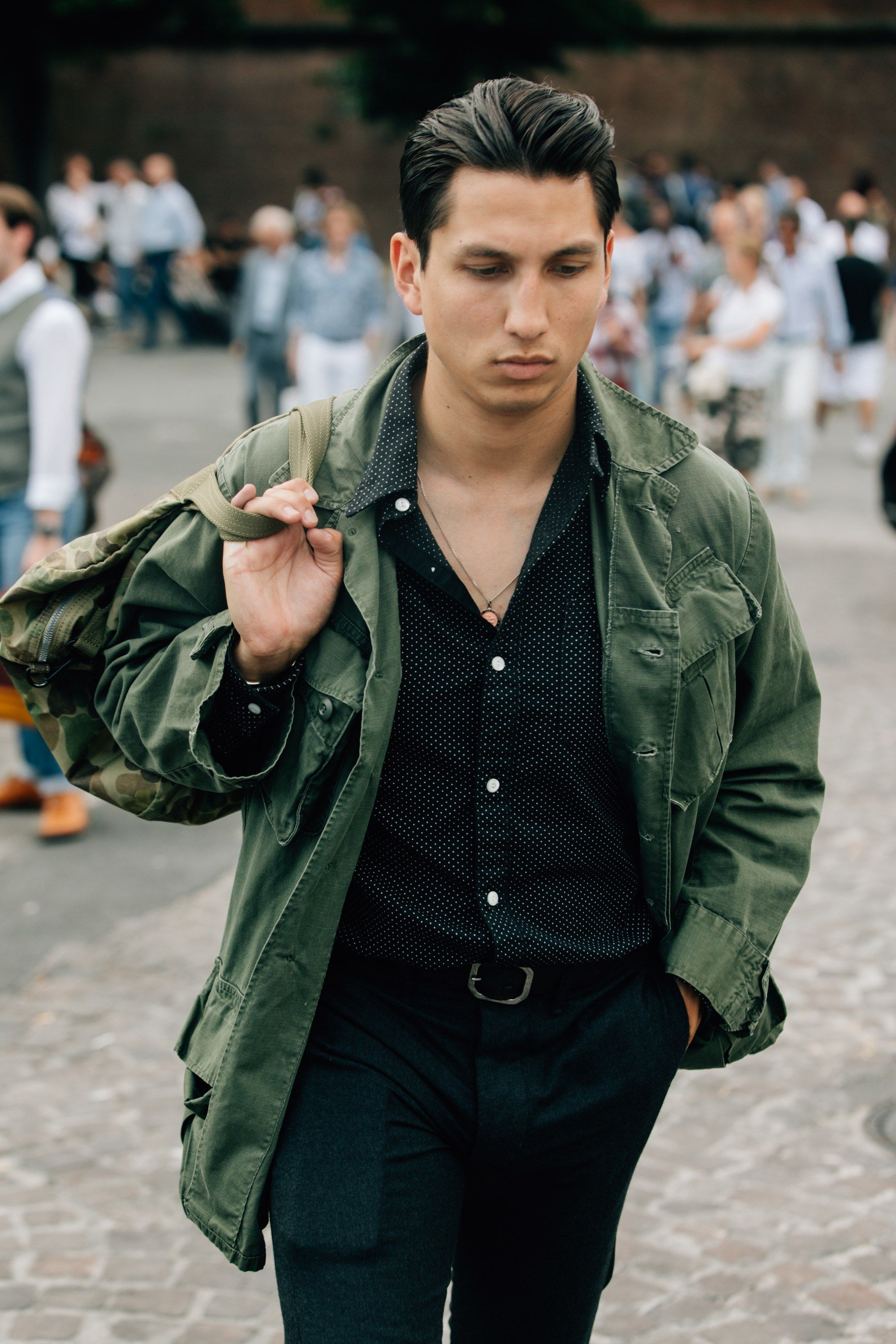 ab2b2e1c705d ... to Dress This Summer. The Best Street Style from Pitti Uomo 92 Photos