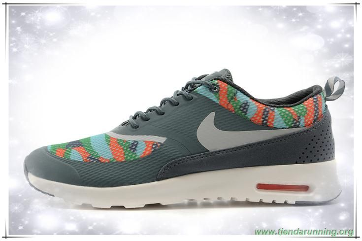 wholesale dealer f94af d2c8c Ashen  Orange  Blanco  Gray 599408-016 Nike Air Max Thea Print comprar  zapatillas baratas