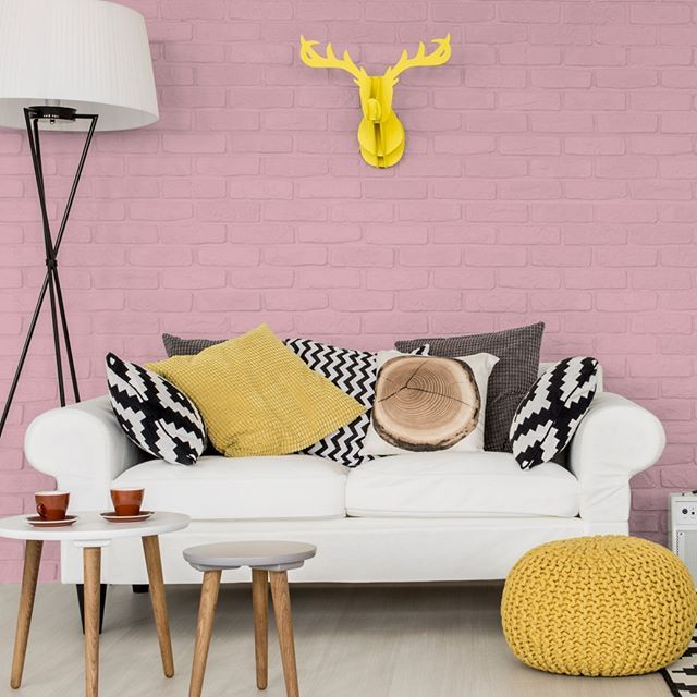 Nippon Paint Malaysia Colour Code Pink Bonnet NP R 1347 P On Travertino Momento Living Room IdeasMalaysiaSalonsPaint