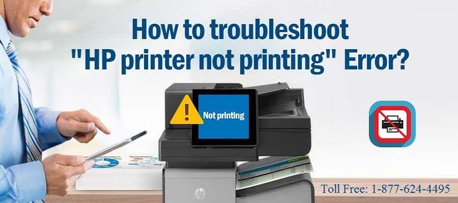 HP Printer Not Printing? How to Fix! 1-877-624-4495