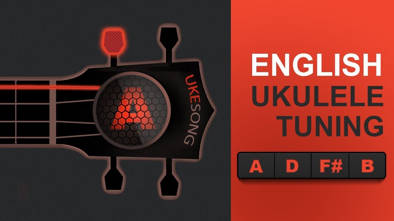 English or d ukulele tuning a d f b tuning best