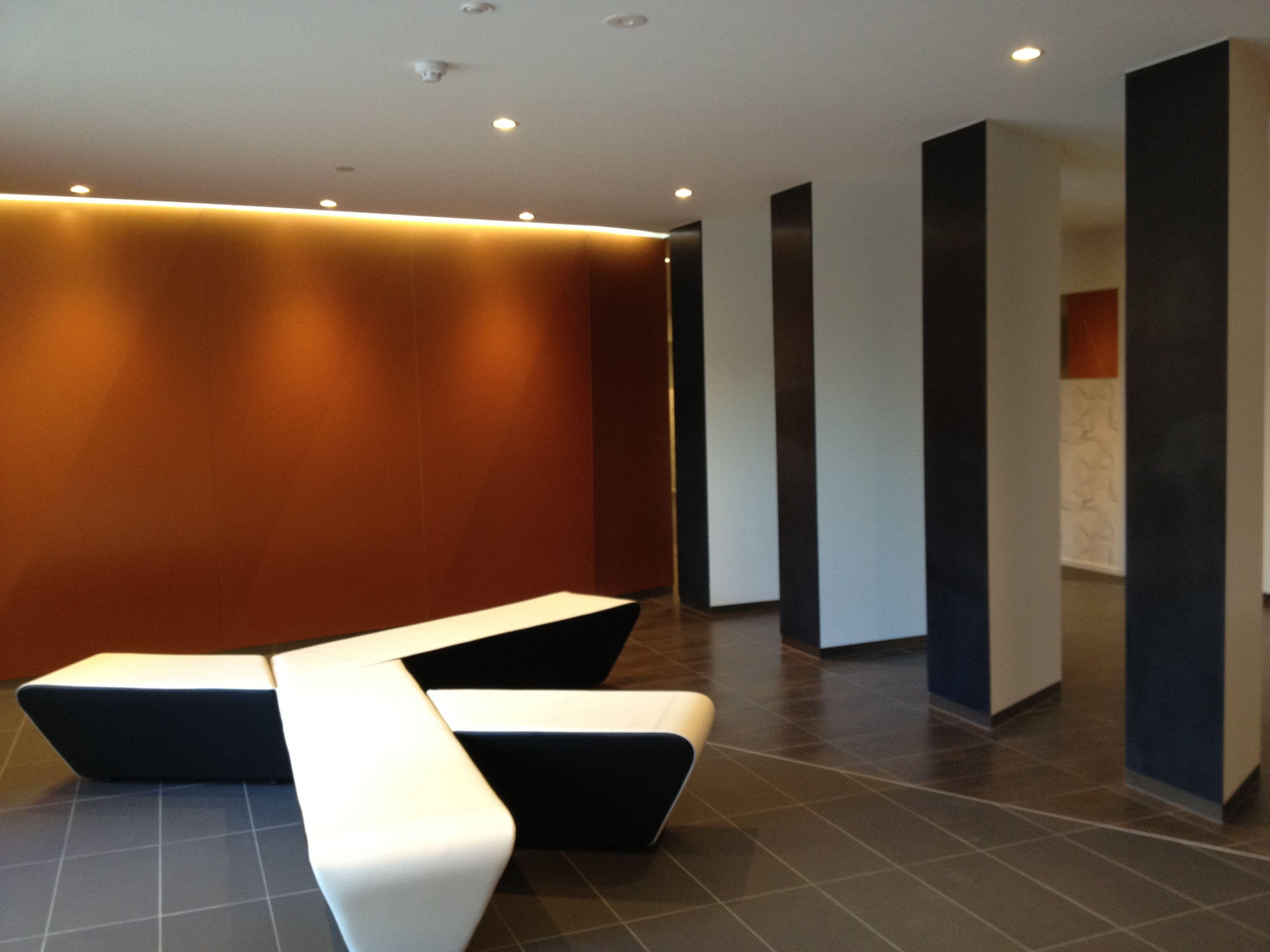 LIV apartment lobby BLP architects Apartment, Furniture