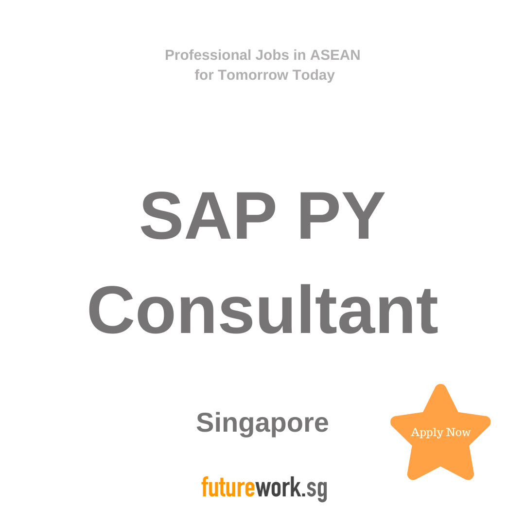 Sap Py Consultant Singaporean Localization 8 Months Contract Looking For Candidates With The Below Competency Sap Linkedin Job Fluent English How To Apply