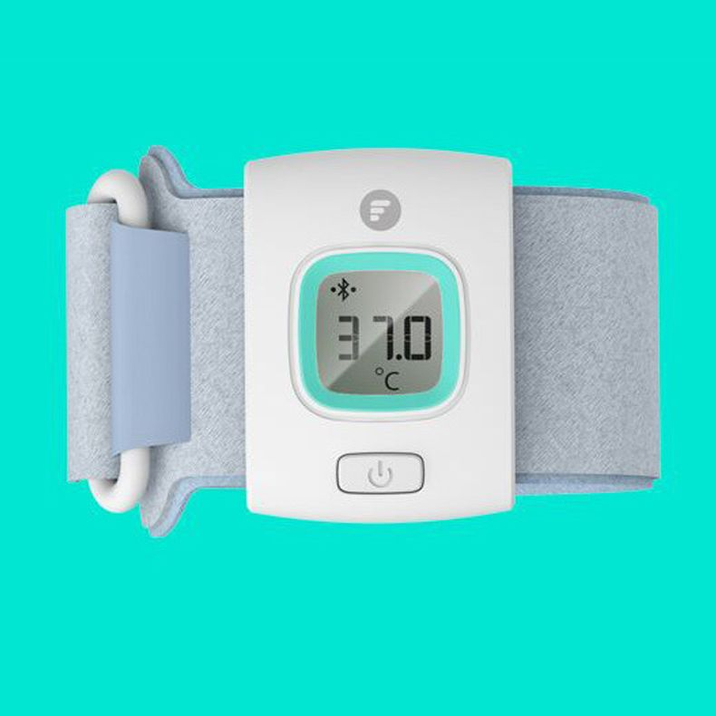 Fii ifever bluetooth intelligent thermometer baby wearable