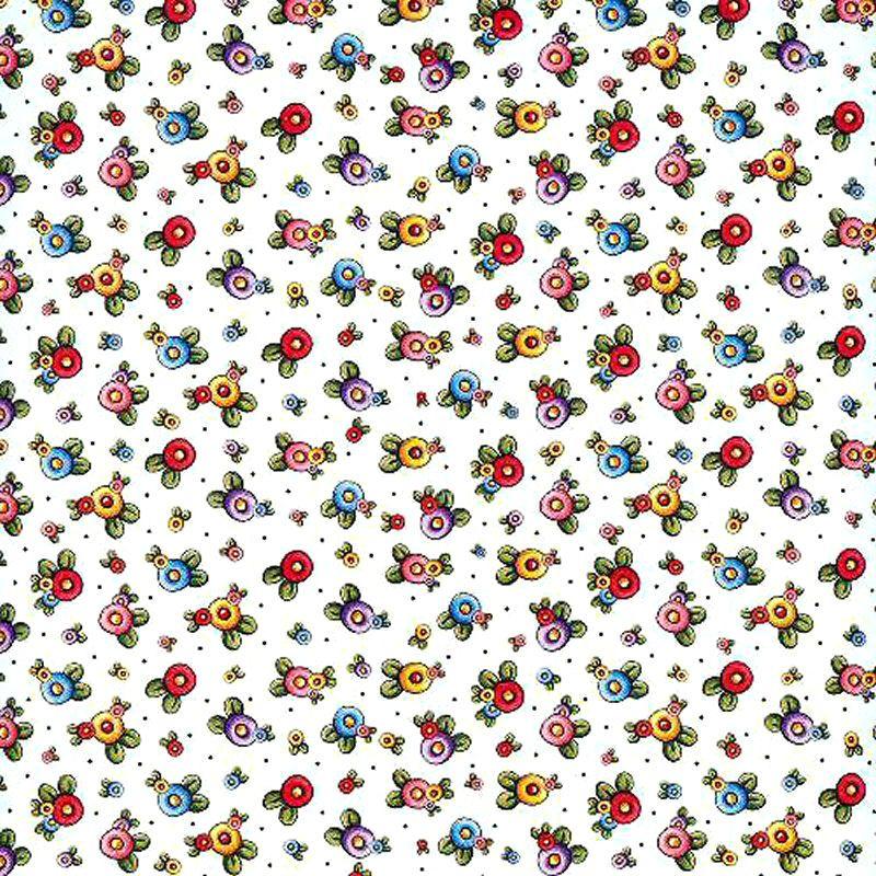 Scrapbook Floral Patterns