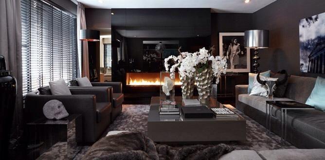 The Netherlands Huizen Headquarter Living Room Ron Galella Eric Kuster Metropolitan Luxury