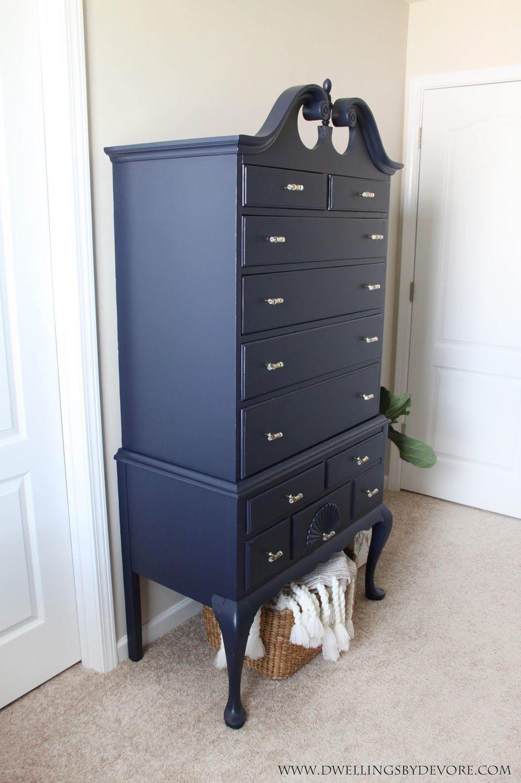 Antique Highboy Makeover Refinishing Furniture Vintage Furniture